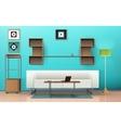 Living Room Isometric Design vector image