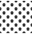 Embarrassing smiley pattern simple style vector image