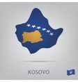 kosovo vector image vector image