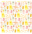 seamless products pattern vector image vector image