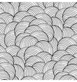 Abstract graphic seashells pattern vector image