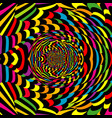 colorful abstract spiral vector image