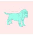Dog Creative print vector image