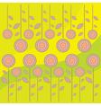 color floral design vector image