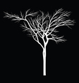 Trees with dead branch vector image
