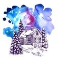 sketch christmas vector image vector image
