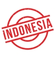 Indonesia rubber stamp vector image