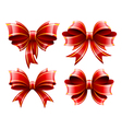 Bows Set vector image vector image