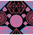 diamonds seamless 04 vector image