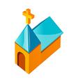 icon church vector image vector image