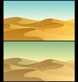 Desert 3 vector image
