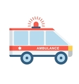 medical emergency car vector image