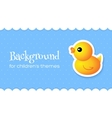 Abstract Background with Duck vector image
