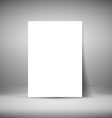 Paper Sheet vector image vector image