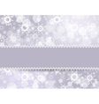 Template frame for Christmas card vector image