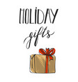 collection of colorful christmas present vector image