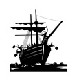 Boston Tea Party Raiders Retro vector image