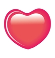 sweet heart candy isolated icon vector image