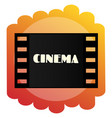 icon of the cinema cinematography and films vector image