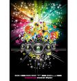 disco flyers vector image vector image