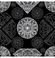 diamonds seamless grunge 01 vector image vector image