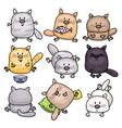 cats cartoons vector image