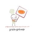 grain grower vector image