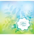 Spring abstract vector image