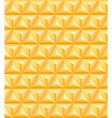 Tripartite golden pyramid seamless texture vector image