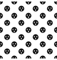 Surprised smiley pattern simple style vector image