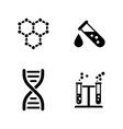 research simple related icons vector image