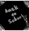 Back to school Start of new school year Eps 10 vector image