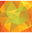 Abstract Autumn Colored Triangles vector image