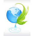 conserve the nature vector image