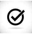 Correct symbol vector image