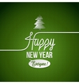 new year vintage background vector image