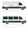 mini bus 03 vector image