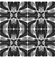 Design seamless decorative geometric pattern vector image