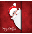 christmas santa background 0110 vector image vector image