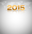 World Layout 2015 vector image vector image
