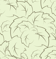 seamless texture of the foliage vector image vector image