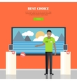 Best Choice Concept vector image