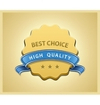 Best choice seal vector image