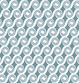 Curved geometric seamless pattern vector image