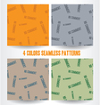 no comment seamless pattern vector image