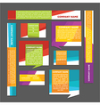 banners and cards vector image
