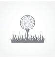 Golf icon vector image