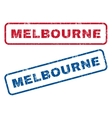 Melbourne Rubber Stamps vector image