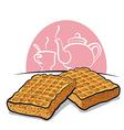 waffles vector image vector image