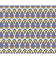 Abstract Geometric style ornament pattern vector image
